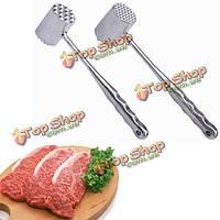 Двусторонняя алюминиевая тендер молоток для мяса свинины говядины куриной маллет