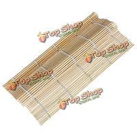 Хэнд-ролл японские суши прокатки делая бамбуковый коврик makisu 9