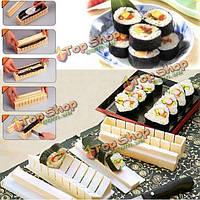 Поделки кухней приготовления суши рис прессформы инструмента набор из 11 шт / уп