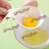 Пластик желток яйца делитель сепаратор инструмент кулинария просеивания гаджет