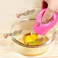 Кухня практичный инструмент яичный белок желток сепаратор делителя фильтра