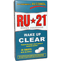 Ru-21, Wake Up Clear, 20 Tablets