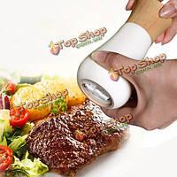 Каучуковое дерево ручной перец соль мельница мясорубку специй кунжутное мельница инструмент Muller кухня