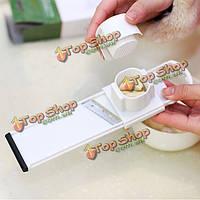 2в1 чеснок slicer резак Шредер функция инструмента кухни