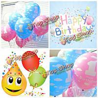 20шт красивые шарики на день рождения для девочки мальчика 1 первый день рождения