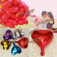 Сердце фольга с гелием воздушные шары для свадьбы день рождения украшения обручальные