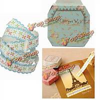 Декоративные рулон липкая бумага самоклеящаяся лента DIY Подарочная упаковка украшения
