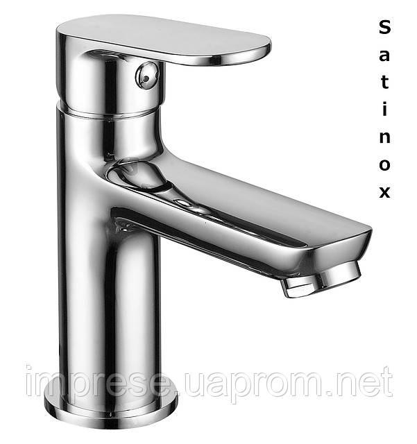 Смеситель для умывальника Laska satinox 05040S (35мм)