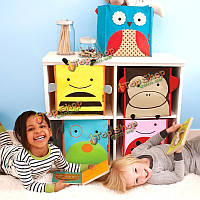 Новый милый мультфильм ящик для хранения организатор детей игрушки книги обувь холст сумка кейс