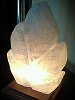 Артемсоль Солевая лампа Лист резной 2 кг (130*130*200)