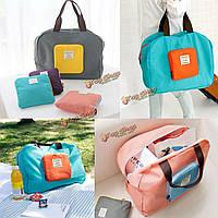 Большая туристическая багаж сумку складные одежды организатор мешок хранения бизнес упаковка
