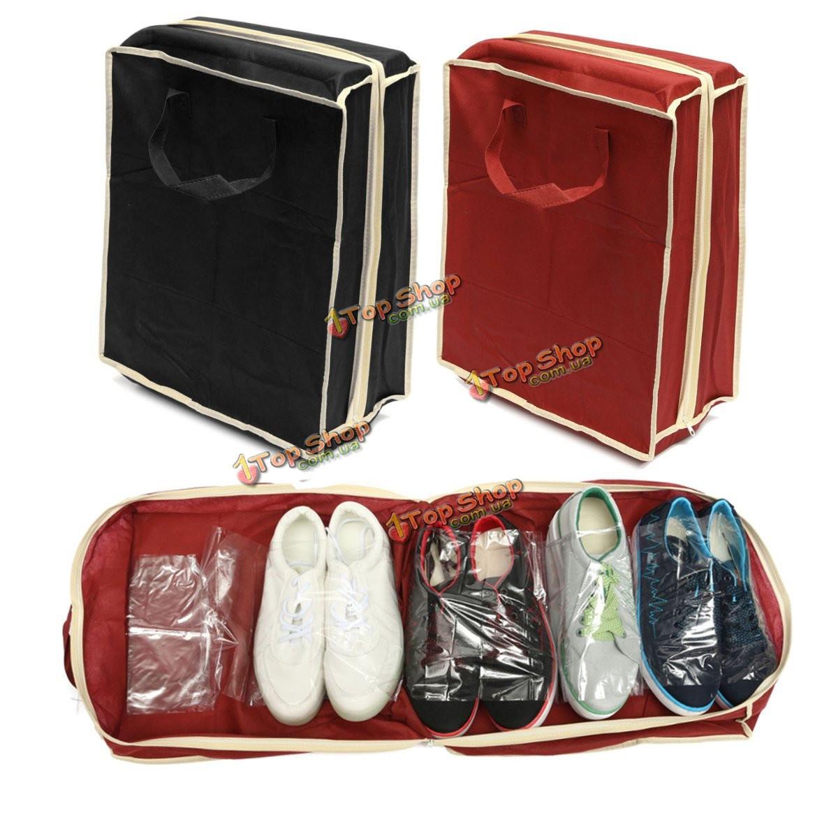 Портативные складные сумки обувь для хранения путешествовать тотализатор организатор молнии сумка - ➊TopShop ➠ Товары из Китая с бесплатной доставкой в Украину! в Киеве