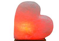 Артемсоль Солевая лампа Сердце на боку 3 кг