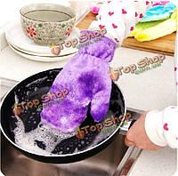 Кухня не окрашивали очистки перчатки блюда зимой водонепроницаемый волокна по дому защитные строительные инструменты