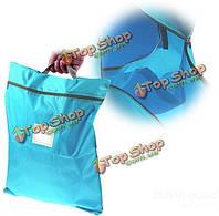 Путешествовать портативный водонепроницаемый обувь прачечная организатор хранения тотализатор сумка молнии