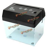 Мини-USB питание электрический уничтожитель бумаги резак письмо нож лоскуток бумаги машина для домашнего офиса triturado