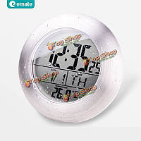 EMATE ванной сенсор водонепроницаемой temparture электронные цифровые часы с присоской и кронштейн