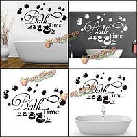 30xВодонепроницаемая стенная ванная этикетки на 60см сменные обои внутреннего декора переводных картинок