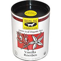 Singing Dog Vanilla, Loose Leaf Organic Tea, Vanilla Rooibos, Caffeine Free, 2 oz (57 g)