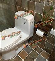 Ретро индустриальном стиле держатель туалетной бумаги с метизы стоять
