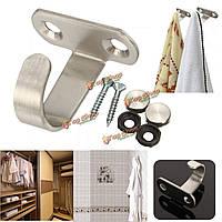 Халат из нержавеющей стальной крюк ванной шкаф настенный монтаж одежды метизов вешалка