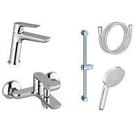 Набор смесителей для ванны Ravak Classic CL 012+CL 022+953.00+972.00+911.00