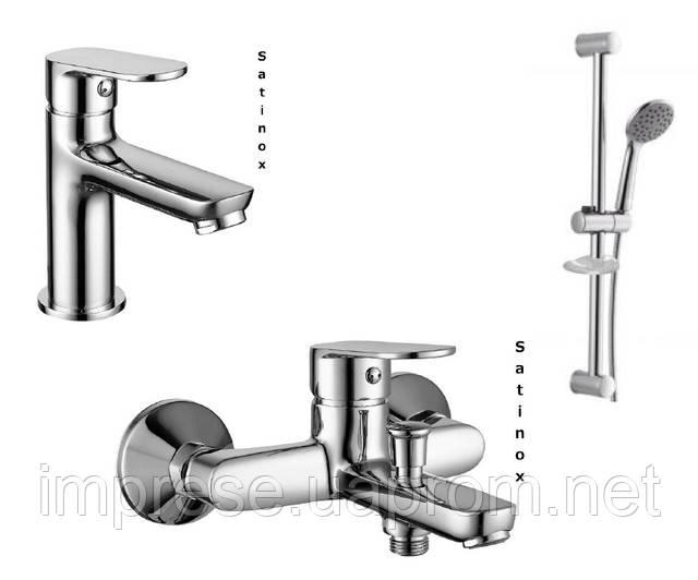 Набор для ванной комнаты Laska satinox 05040S-10040S