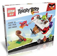 """Конструктор  Lepin Angry Birds 19002 """"Самолетная атака свинок"""" (185 деталей) КК"""