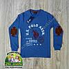 Пуловер Polo для мальчика голубой и зеленый