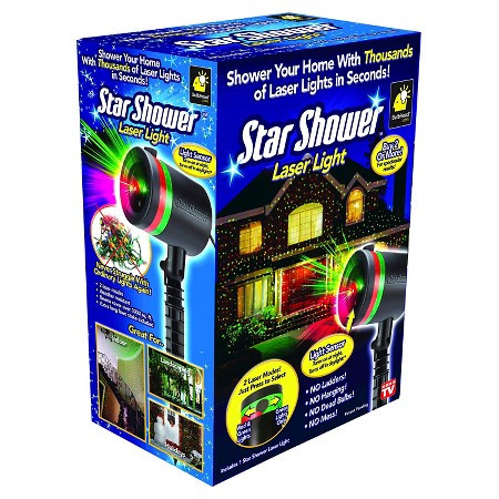 STAR SHOWER LASER LIGHT AS SEEN ON TV