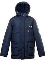 Зимняя теплая  куртка с подстежкой для мальчиков -подростков,размеры 34-44 S452
