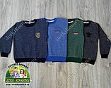 Пуловер Adidas для мальчика серый, фото 3