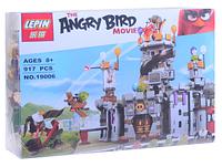 """Конструктор  Lepin Angry Birds 19006 """"Замок Короля свинок"""" (917 деталей) КК"""