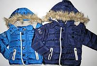 Куртка для мальчиков на флисовой подкладке F&D 1-3-4 лет