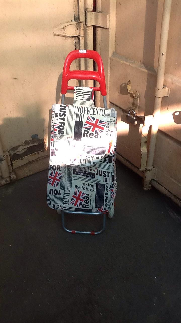 Хозяйственная сумка-тележка с атласной сумкой