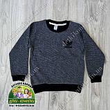Пуловер Adidas для мальчика серый, фото 2