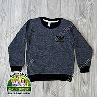 Пуловер Adidas для мальчика серый