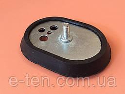 Фланець металевий овальний (117мм*86мм) з гумовим ущільнювачем для бойлерів Ariston (Китай)