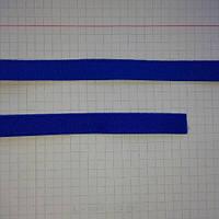 Резинка для шлеек бюстгалтера,резинка двухсторонняя ,швейная фурнитура для белья .цвет -василек