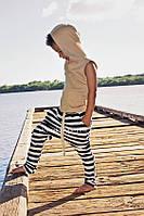 Подростковый жилет с капюшоном