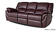 """Розкладний диван в комплекті з кріслом-реклайнером """"ALABAMA"""" (3+1), фото 2"""