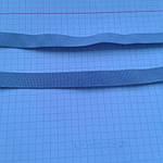 Резинка голубая для шлеек бюстгалтера,резинка двухсторонняя ,швейная фурнитура для белья .цвет -голубой, фото 2