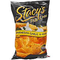 Stacy's, Pita Chips, Parmesan Garlic & Herb, 7 1/3 oz (207.8 g)
