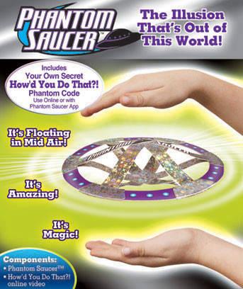 Волшебная летающая тарелка Phantom Saucer, фото 2