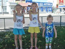 Дарья 8 лет,Александра 7 лет и Андрей 3 годика