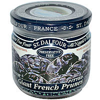 Аженский чернослив, Giant French Prunes, Pitted, St. Dalfour, 200 г