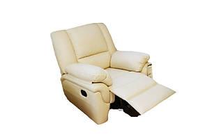 """Кожаное кресло с реклайнером """"ALABAMA"""" (98 см), фото 2"""