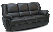 Кожанный комплект мебели Alabama с реклайнером, мягкая мебель, мебель в коже, кожаная мебель, фото 2
