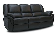 Кожанный комплект мебели Alabama с реклайнером, мягкая мебель, мебель в коже, кожаная мебель, фото 3
