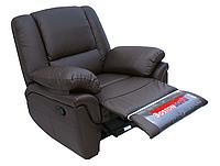 Кожаное кресло реклайнер ALABAMA, 0309 (98 см)